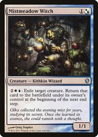 Mistmeadow Witch, Magic: The Gathering, Commander 2013