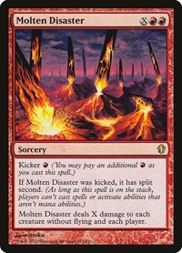 Molten Disaster, Magic: The Gathering, Commander 2013