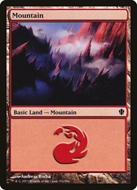 Mountain (352), Magic: The Gathering, Commander 2013