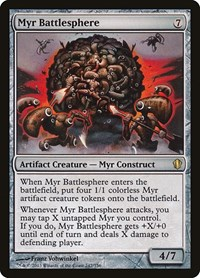 Myr Battlesphere, Magic: The Gathering, Commander 2013
