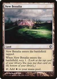 New Benalia, Magic: The Gathering, Commander 2013