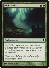 Night Soil, Magic: The Gathering, Commander 2013