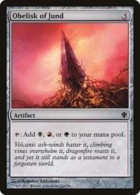 Obelisk of Jund, Magic: The Gathering, Commander 2013