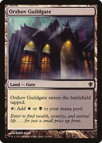 Orzhov Guildgate, Magic: The Gathering, Commander 2013