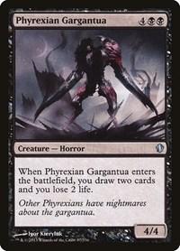 Phyrexian Gargantua, Magic: The Gathering, Commander 2013