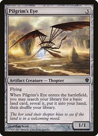 Pilgrim's Eye, Magic: The Gathering, Commander 2013