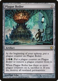 Plague Boiler, Magic, Commander 2013