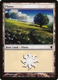 Plains (337), Magic, Commander 2013
