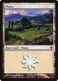 Plains (338), Magic: The Gathering, Commander 2013