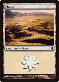 Plains (340), Magic: The Gathering, Commander 2013