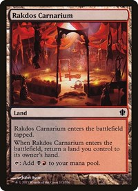 Rakdos Carnarium, Magic: The Gathering, Commander 2013
