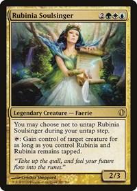 Rubinia Soulsinger, Magic: The Gathering, Commander 2013