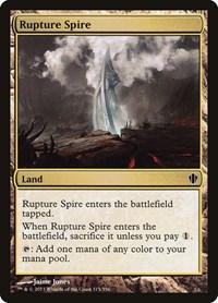 Rupture Spire, Magic, Commander 2013