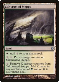Saltcrusted Steppe, Magic: The Gathering, Commander 2013