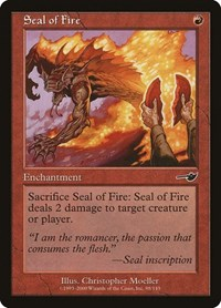 Seal of Fire (Foil)
