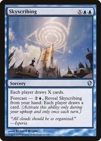 Skyscribing, Magic, Commander 2013