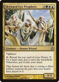 Skyward Eye Prophets, Magic: The Gathering, Commander 2013