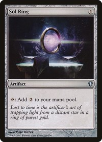 Sol Ring, Magic: The Gathering, Commander 2013