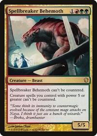 Spellbreaker Behemoth, Magic: The Gathering, Commander 2013