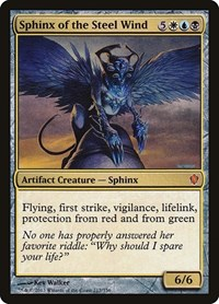 Sphinx of the Steel Wind, Magic: The Gathering, Commander 2013