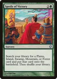 Spoils of Victory, Magic, Commander 2013