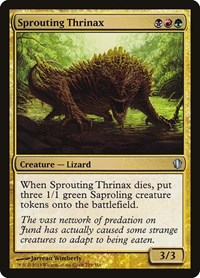 Sprouting Thrinax, Magic: The Gathering, Commander 2013