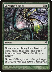 Sprouting Vines, Magic: The Gathering, Commander 2013