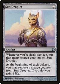 Sun Droplet, Magic: The Gathering, Commander 2013