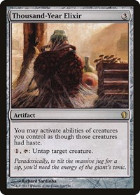 Thousand-Year Elixir, Magic: The Gathering, Commander 2013