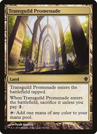 Transguild Promenade, Magic: The Gathering, Commander 2013
