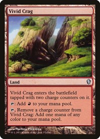Vivid Crag, Magic: The Gathering, Commander 2013