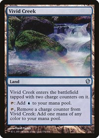 Vivid Creek, Magic: The Gathering, Commander 2013