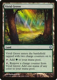 Vivid Grove, Magic: The Gathering, Commander 2013