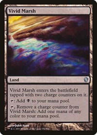 Vivid Marsh, Magic: The Gathering, Commander 2013
