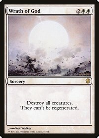 Wrath of God, Magic: The Gathering, Commander 2013