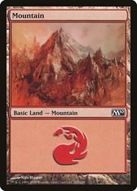 Mountain (243), Magic: The Gathering, Magic 2010 (M10)