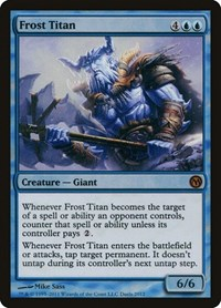 Frost Titan, Magic: The Gathering, Media Promos