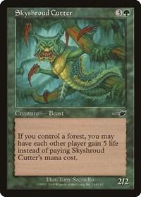 Skyshroud Cutter, Magic: The Gathering, Nemesis