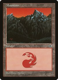 Mountain (Middle Chasm), Magic: The Gathering, Portal