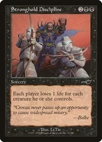 Stronghold Discipline, Magic: The Gathering, Nemesis