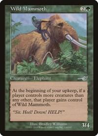 Wild Mammoth, Magic: The Gathering, Nemesis