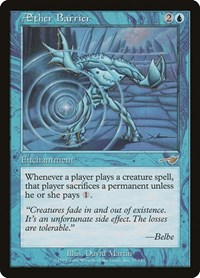 Aether Barrier, Magic: The Gathering, Nemesis
