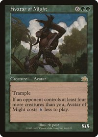 Avatar of Might, Magic: The Gathering, Prophecy