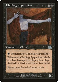 Chilling Apparition, Magic: The Gathering, Prophecy