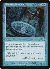 Rhystic Scrying, Magic: The Gathering, Prophecy