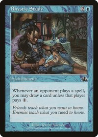 Rhystic Study, Magic: The Gathering, Prophecy