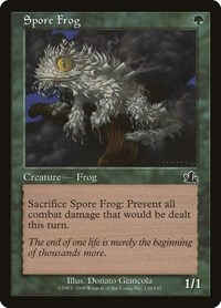 Spore Frog, Magic, Prophecy