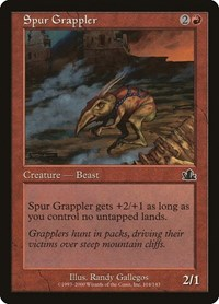 Spur Grappler, Magic: The Gathering, Prophecy