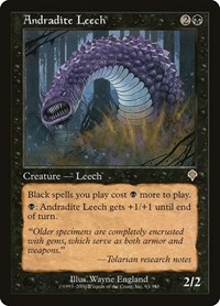 Andradite Leech, Magic: The Gathering, Invasion