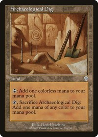 Archaeological Dig, Magic: The Gathering, Invasion